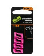 Fox Zig Aligna Sleeves x 8 pink