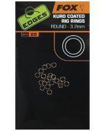 Fox Edges Kuro O Rings 3.2mm Medium x 25pc