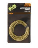 Fox Edges Anti-tangle Tube - trans khaki x 2m