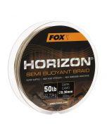Fox Horizon Dark Camo Semi Bouyant Braid x 300m 0.30mm 50lb/22.73kg