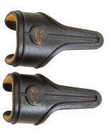 Fox Edges Power Grip Line Clips Large x 3 - orange