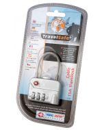 Travesafe cijferslot met kabel TSA