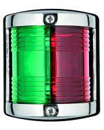 Navigatielicht rvs bak/stuur-rood-groen