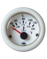 Watertemperatuur meter guardian wit 12v