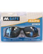 Veiligheidsbril  Maipo donkere lens blister