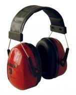 M-Safe gehoorkap Sonora 2 hoofdb. rood