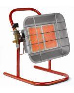 Kachel infrarood straler vrijstaand