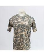T shirt army korte mouw acu