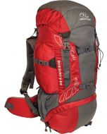 Rugzak Discovery 65 Liter rood