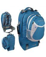 Rugzak Explorer 60+20L Blauw