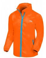 Regenjas Mac kids Neon Orange