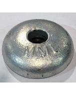 Aluminium anode schijf, boutverbinding 0.9 KG