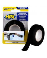 Cable protection tape - zwart 19mm x 10M
