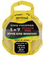 Pike Fighter 1x7 Titanium Wire 3m 17lb