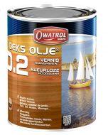 Owatrol d2 olie 2,5 liter